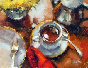 """Afternoon Tea"" by Desmond O'Hagan"